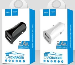 Hoco Z12 car charger 4.8A